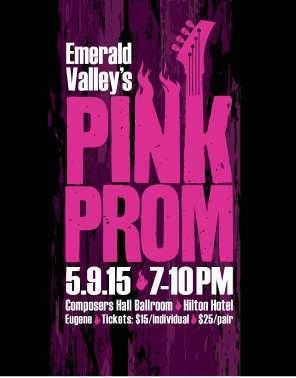 Rock-n-Roll 2015 Pink Prom