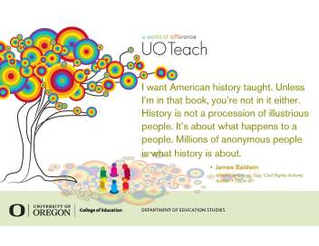 uo teachout new tree quote baldwin